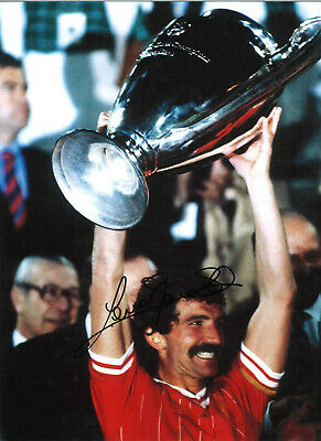Graeme Souness Liverpool 16x12 inch hand signed authentic football photo SS403A
