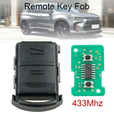 433Mhz Keyless Entry Car Remote Key FOB Fit for Vauxhall/Opel/Corsa/Combo/Meriva