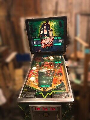 Includes Rubber Ring Kit 1982 Gottlieb Haunted House Pinball Tune-up Kit
