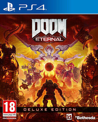 Doom Eternal - Deluxe Edition Ps4 Italiano Gioco Limited Edition Play Station 4