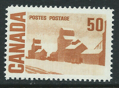 Canada #465Aii(1) 1967 50 cent br org SUMMER'S STORES LOW FLUOR MNH CV$8.50