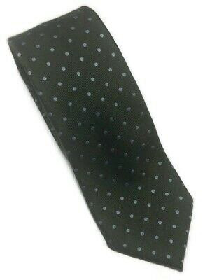 "Brioni Men's Green Polka Dot Cashmere/Silk Neck Tie - 59.75""L X 3.5""W"