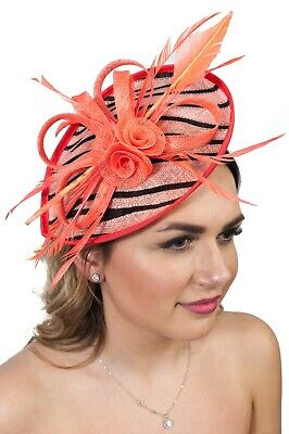 Ladies Headpiece Sinamay Fascinator Fascinators Race Day Millinery Wedding Guest