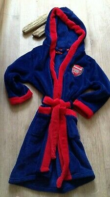 Arsenal Boys Soft Gown 7-8 years Sensory -soft - cosy official product camping