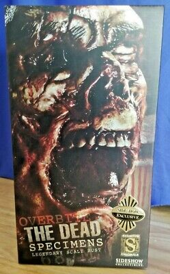 New 2010 Sideshow Exclusive The Dead Specimens 687M Overbite Bust #106/200