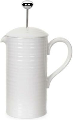 Portmeirion Sophie Conran cafetiere coffee pot - white
