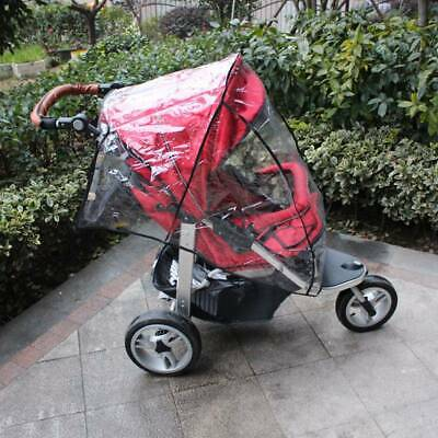 Baby Stroller Rain Cover Waterproof Dust Shield Cover Strollers Universal Size