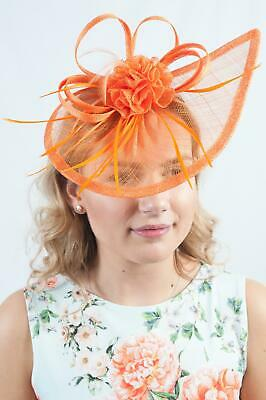 Ladies Fascinator Headpiece Hats Race Day Wedding Ascot Sinamay Millinery RRP£45