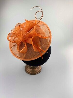 Ladies Fascinator Headpiece Race Day Hats Ascot Hat Fascinators Sinamay RRP £65