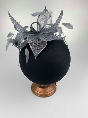 Ladies Fascinator Sinamay Headpiece Feather Fascinators Hats Race Day Wedding