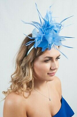 Ladies Fascinator Headpieces Hat Race Day Wedding Ascot Fascinators Hats RRP £49