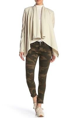 Blank NYC Reade Skinny Crop Camouflage Jeans Size 30 New