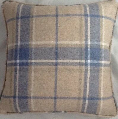 A 16 Inch Laura Ashley cushion cover in Elmore Silver fabric