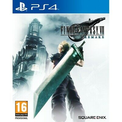 Final Fantasy 7 Remake HD (PS4)