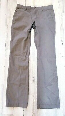 Old Navy Womens Sz 8 Tall Olive Green Perfect Bootcut Stretch Khaki Chino Pants