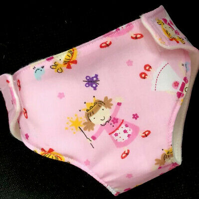 "1 New Dolls Nappy Fits Baby Born Annabell Dolls Clothes Outfit 16-18 ""(41-46cm)"
