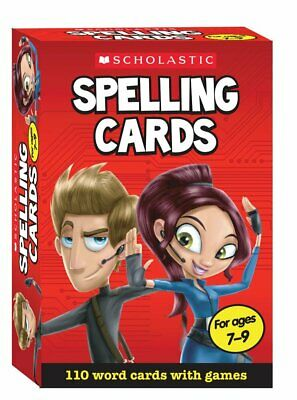 Scholastic Spelling Cards Ages 7-9