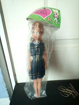 MISS MARY doll BARBIE CLONE foreign 70s BOOTLEG hong kong VINTAGE tressy tammy