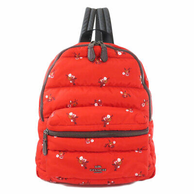 COACH  F30667 Backpack · Daypack Outlet floral Nylon