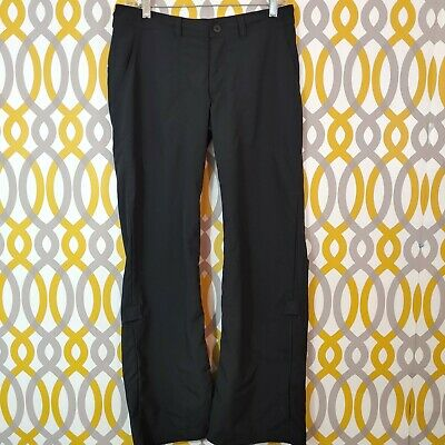 PATAGONIA Roll Up Hiking Women's Outdoors Camping Pants Black Size 6