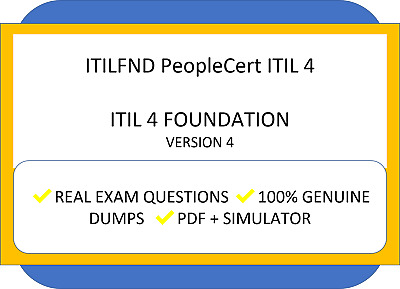 ITIL 4 Foundation Version 4 Exam Q&A + simulator (Fast Delivery)