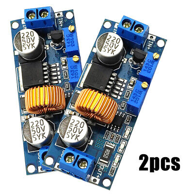 2x 5A Step Down Constant Current Buck Regulator Module Charger LED Driver Sets