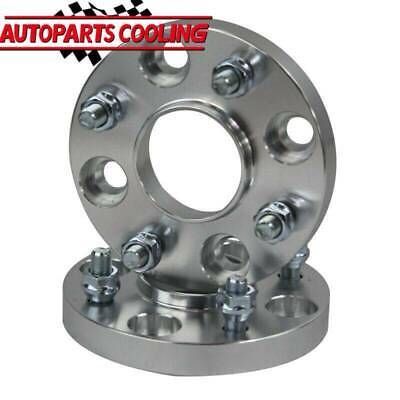 H/&R 10mm Hubcentric Wheel Spacers Honda Civic 4x100 EP1 EP2 EP4 01-06