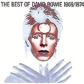 David Bowie - The Best Of 1969-1974 (CD) . FREE UK P+P .........................