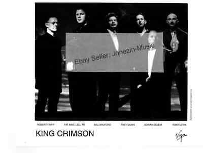 King Crimson 8x10 official promo publicity press photo 1995 - Free US Shipping