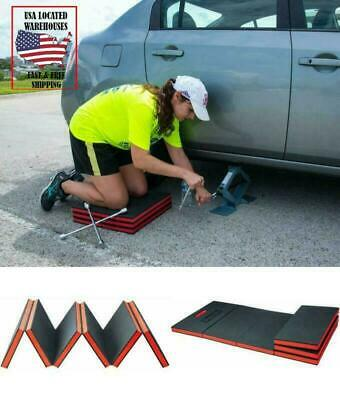 Mechanics Handy Kneel Down Foldable Padded Work Shop Floor Mat EVA Foam Pads New