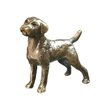 Jack Russell Solid Bronze Foundry Cast Detailed Sculpture Butler /& Peach 2071