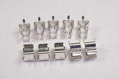 "Lot of 10 01220088Z Littelfuse Cartridge Fuse Clip 30A PC Pin for 1/4"" D Fuses"