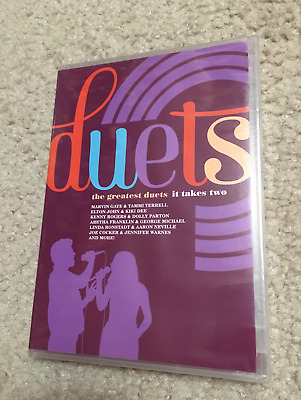 NEW!! DUETS dvd THE GREATEST DUETS Rare! DOLLY PARTON Kenny Rogers IT TAKES TWO