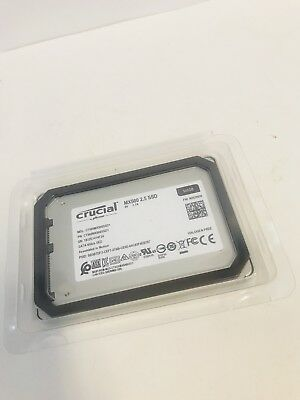 "Crucial MX500 500GB 3D NAND 2.5"" Internal Solid State Drive CT500MX500SSD1"