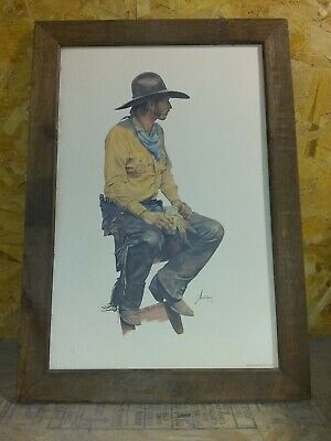 They Call Me Hambone by Gordon Snidow SN LE Lithograph Cowboy Western