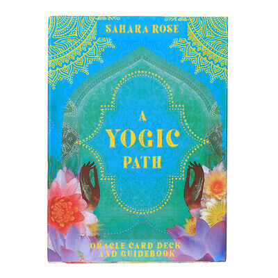 78pcs A Yogic Path Oracle Cards Playing Board Game Cards Gift 105mm*75mm