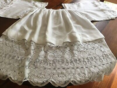 Liturgical Vestment JHS Cluny Lace?