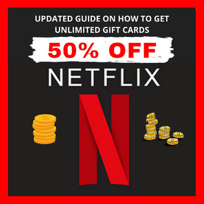 How Get Netflix Gift Cards UP To 40-60% Off Discounted With BONUS Cash Back