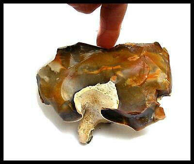 Paleolithic zoomorphic elephant mammoth portable rock art flint tool british