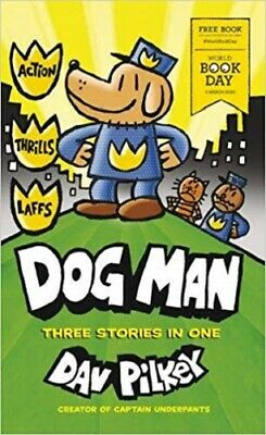 Dog Man (World Book Day 2020) By Dav Pilkey NEW small Paperback Book