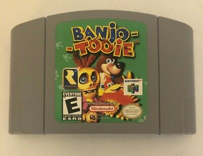 Banjo Tooie  N64 Nintendo 64 Authentic!