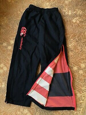 Girls Navy Canterbury Uglies Tracksuit Bottoms Age 10 Years