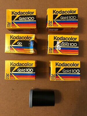 Kodak Gold 100 Color Print Film 36 Exp/24 Exp