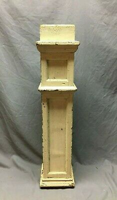 Antique Decorative Newel Post Shabby Vtg Mission 6x33 Chic Staircase 218-20B