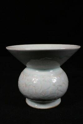 beautiful chinese SONGCI porcelain  zhadou(渣斗)vase