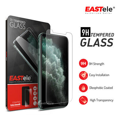Apple iPhone 11 Pro Max XS MAX XR X EASTele Tempered Glass Film Screen Protector