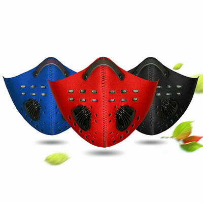 Half Face Mask Mouth Anti Dust Pollution Filter Sport Cycling Bicycle Motorcycle