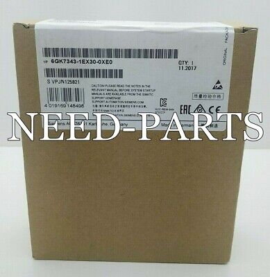 1PC NEW  Siemens 6GK7 343-1EX30-0XE0