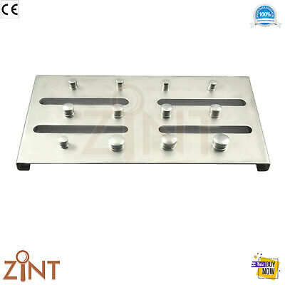 Endodontic Dental Rubber Dam Clamps Holding Tray For 12Pcs Clamps Restorative