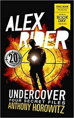 Alex Rider Undercover: Four Secret Files By Anthony Horowitz NEW WBD Paperback